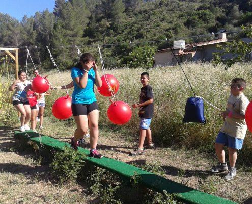 Campamentos multiaventura en Cofrentes