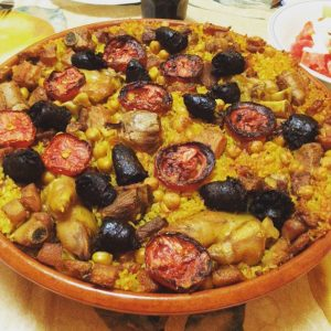 Gastronomía del Valle: El arroz al horno