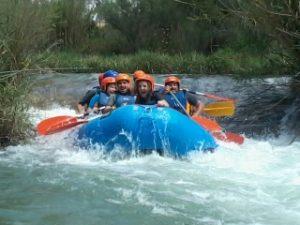 Descensos en canoa y rafting en Cofrentes